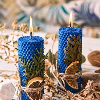 Свічки  з кольорової вощини,декоративні свічки,медові свічки та мило для дому та декору