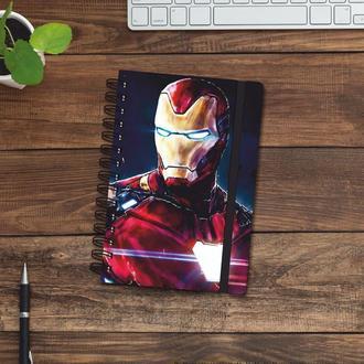 Скетчбук (блокнот) — Iron man 2