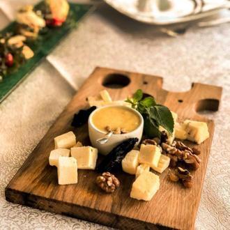 Доска в виде сыра прямоугольная большая Дуб Lasco