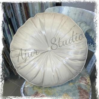 Подушка круглая интерьерная