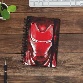 Скетчбук (блокнот) — Iron man 3