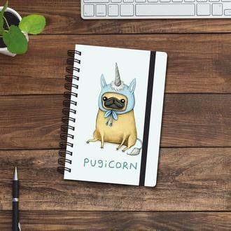 Скетчбук (блокнот) — Pugicorn