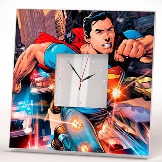 "Часы с рисунком ""Супермен"""