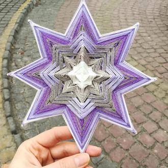 Мандала Фиолетовая Звезда Ясности