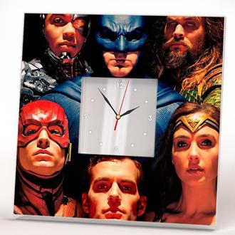 """Прикольные настенные часы """"Супергерои"""""""