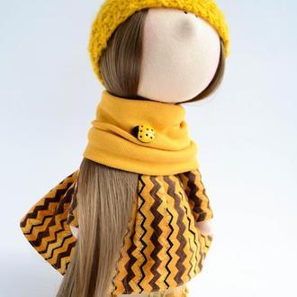 Текстильная кукла Sanna
