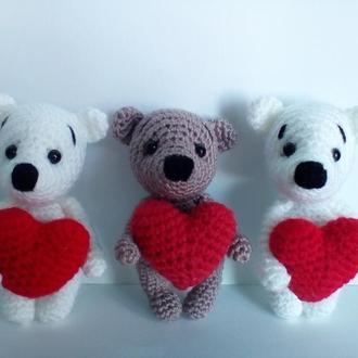 Милашка мишка подарок на день Святого Валентина любимому человеку