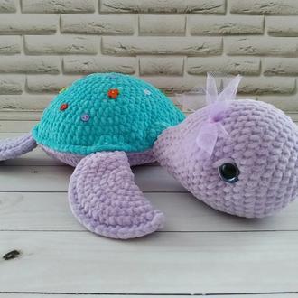 Черепаха плюшевая