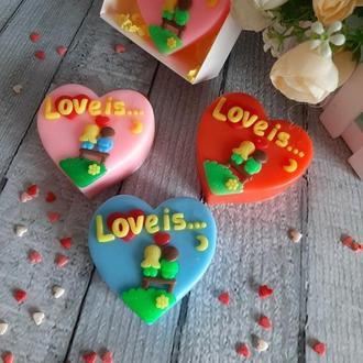 Мыло Love is
