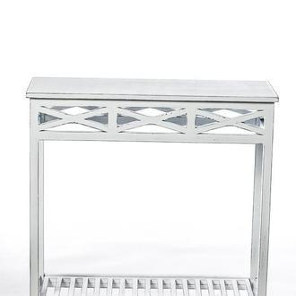 """Консольний столик """"Версаль"""" Біла патина"""