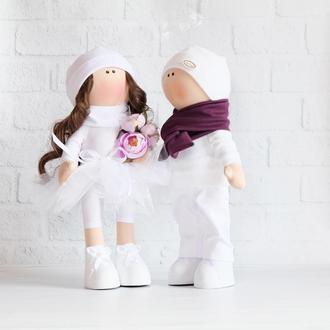 Куклы свадебная пара