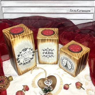 Набір свічників «Романтичний вечір»