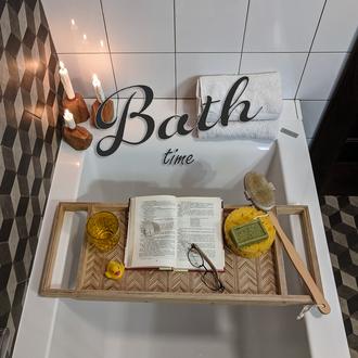 Таця для ванни. Поднос для ванной.