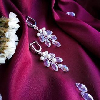 Серьги , серьги , свадебные серьги