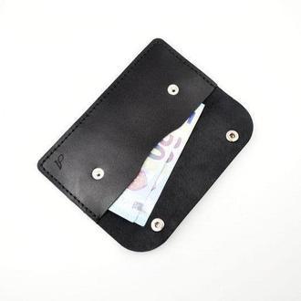 Кожаный конверт для купюр, конверт ручной работы, конверт для денег, купюрница