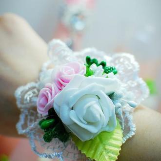 Бутоньерка невесты