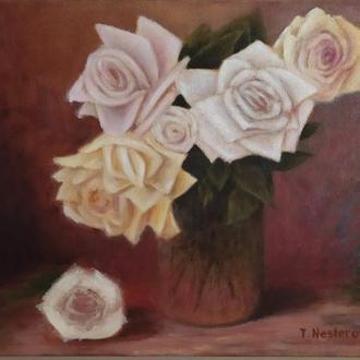 Натюрморт с розами