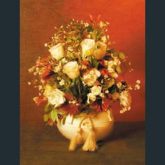"Фотоколаж ""Madame de Pompadour. Floral Personalities"""