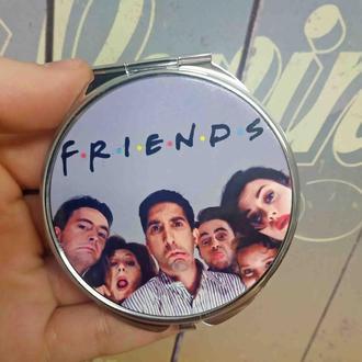 Карманное зеркало Друзья