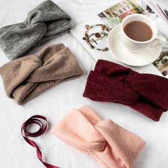 Чалма сложная, чалма на голову, теплая чалма, повязка на голову, чалма зимняя, повязка