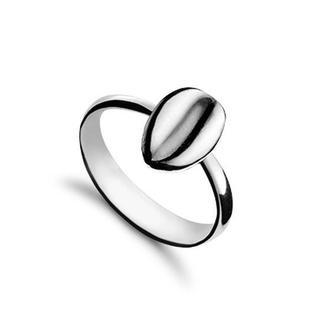 Серебряное кольцо Кофе