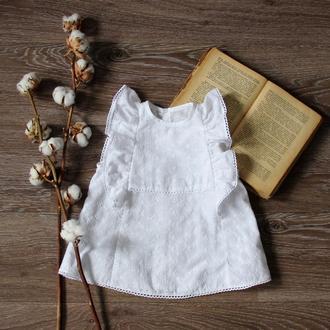 Блуза с вышивкой хлопковая (батист) ТМ DORA