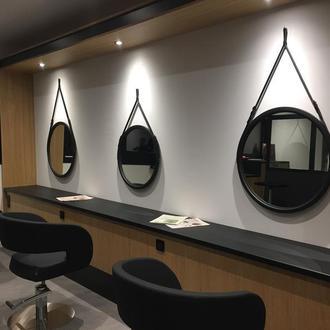 Круглое зеркало на ремне Paris