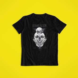 Мужская футболка с принтом черепа SURREALISM