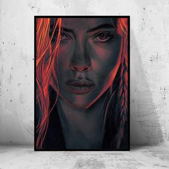 Постер Черная Вдова / Black Widow (Marvel / Avengers / Марвел / Мстители)