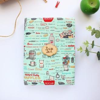 Кулинарная книга, блокнот для записи рецептов