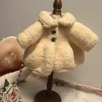 Шубка для текстильных,интерьерных и кукол Паола.