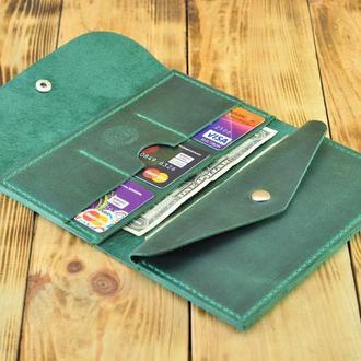 Кожаный кошелек - элегантный аксессуар к любому наряду