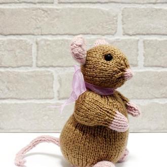 Мышка с бантом