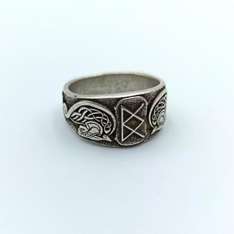 Скандинавское кольцо богини валькирии Фрейи.