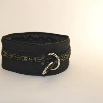 Black Poodle's Collar. Mod. Mary Ошенийк для Пуделя