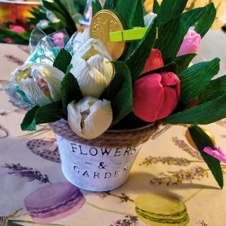 Відро тюльпанів 2