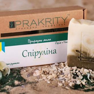 Натуральное мыло Спирулина