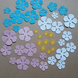 Набор вырубки для скрапбукинга цветы, декор для скрапбукинга