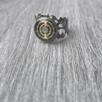 Кольцо стимпанк