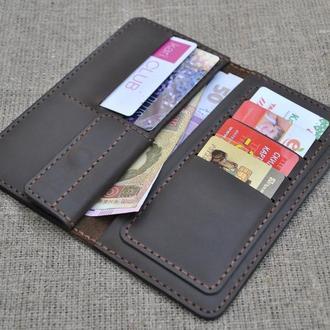 Шикарное портмоне из натуральной кожи K07-450