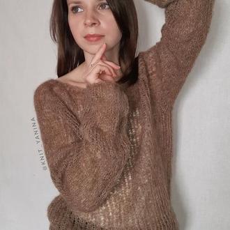 Базовый бежевый свитер