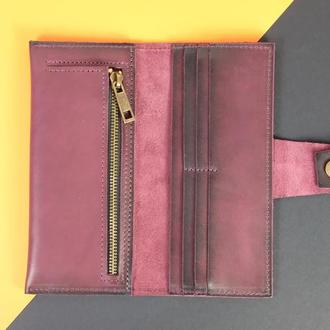 Кожаный кошелек One BL Натуральная кожа