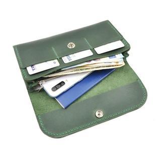 Кожаный кошелёк, клатч, женский кошелёк, кошелёк ручной работы, отличный подарок, гаманець
