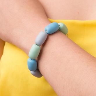 """Яркий цветной браслет из керамики """"Carnival"""""""