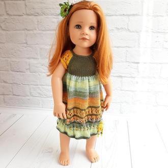 Платье на куклу Готц 50 см, кукольное платье, подарок девочке