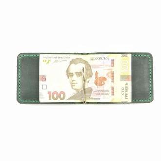Кожаный зажим для денег, зажим, маленький кошелёк, отличный подарок, гаманець