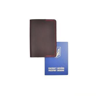 Кожаная обложка на паспорт, мульти обложка, обложка, чехол для паспорта
