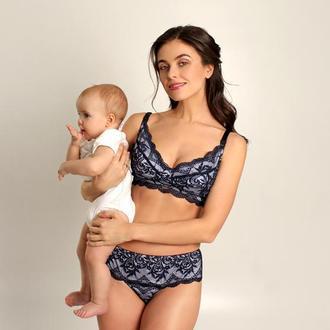 """Нижнее белья для кормящих мам и беременных """"Montrouge Blue"""""""