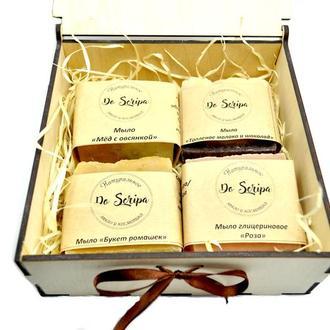 Подарочный набор Натуральное мыло Do scripa