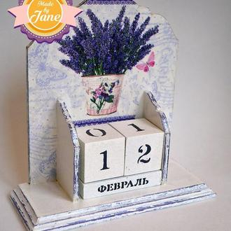 Вечный календарь Прованс (большой)